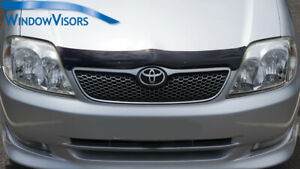 Premium Quality Bonnet Protector Tinted for Toyota Corolla 2000-2006 prefacelift