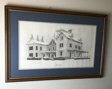 """Brian's House by Martin May Folio #149/500 - Framed Print 20.5"""" x 31"""""""