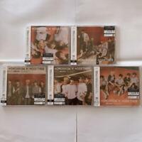 TXT DRAMA TOMORROW x TOGETHER UNIVERSAL MUSIC JAPAN 5CDs FULL SET