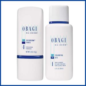 Obagi Medical Foaming Gel 6.7 oz + Exfoderm Forte 2 oz Bundle