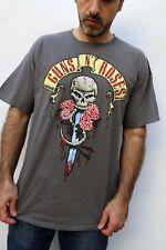 Guns n Roses RETRO Dark Grey GILDAN Heavy Cotton Official Licensed XL VERY GOOD