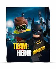 LEGO Batman Movie Hero Print Fleece Blanket - Team Hero