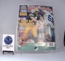 THE SPORTING NEWS PRO FOOTBALL YEARBOOK 1996 GREEN BAY GUNSLINGER BRETT FAVRE