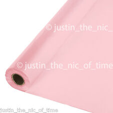 100ft BABY PINK Plastic Buffet Banquet Roll Party Table Cover Tablecover