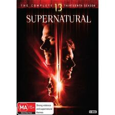 SUPERNATURAL-Season 13-DVD-Region 4-New AND Sealed-5 Disc Set-TV Series