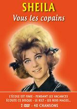 DVD Sheila - Vous les copains - 40 chansons - 2 DVD