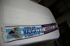 BUFANDA DE FUTBOL CHAMPIONS LEAGUE 2012 MALAGA C.F Y ANDERLECHT    SCARF