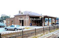 BALTIMORE & OHIO Railroad Station Silver Spring, Md. 10/72 ORIGINAL SLIDE PC0718