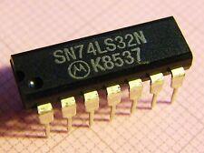 10x sn74ls32n quad 2-input or-Gate, Motorola