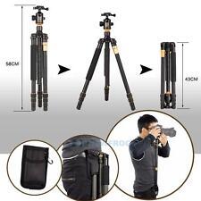 Q999 Portable Aluminium Tripod Monopod & Pocket Kit Ball Head For DSLR Camera