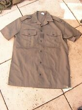 superbe  chemise     militaire      neuf de stock   1994(cab)