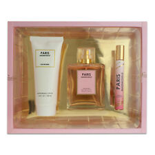 Paris Mademoiselle 3pc Set Perfume Lotion Gift Set -- Inspired By Coco Chanel