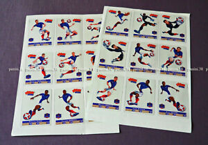 """RARE !! COMPLETE COLLECTION """"EQUIPE DE FRANCE - EURO 2012"""" PITCH"""