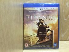 Titanic 3D Collectors Edition Blu Ray New & Sealed