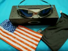 OAKLEY JULIET PLASMA X METAL FRAME MINT W ICE IRIDIUM LENSES SUNGLASSES BOX COIN