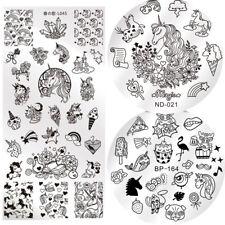 3Pcs Nail Stamping Image Plates Template Nail Art Stamp Kit BORN PRETTY Stencil