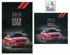 2015 Dodge Charger User Guide plus Owner Manual DVD Operator Book Fuses