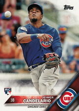 2016 Topps Update US81 Jeimer Candelario, Chicago Cubs RC