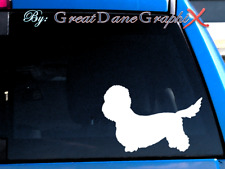 Dandie Dinmont Terrier -Vinyl Decal Sticker -Color Choice -High Quality