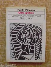 Pablo Picasso/ Obra Gráfica/ Gustavo Gili/Serie gráfica/Comunicación visual/1982