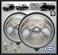 """Ford fiesta Mk1 Clásico Rally Estilo 6"""" Lámparas Halógenas Conducción Spot Luces Par"""