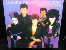 LP ALASKA y LOS PEGAMOIDES grandes exitos RSD SPAIN 2014 NUEVO LTD VINILO MORADO