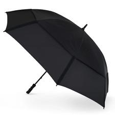 GustBuster Golf Tour 68 XL Windproof Umbrella - Black
