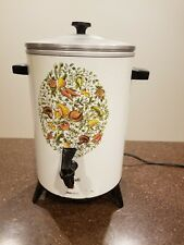 Vintage Corning Ware Spice O Life Le Cafe Coffee Pot/Percolator, 30-cup *Works*