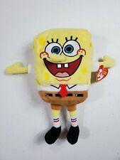 TY Beanie Babies Spongebob Squarepants 2010 Viacom New X