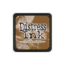 Tim Holtz - Mini Distress Ink Pad - VINTAGE PHOTO -  Brown