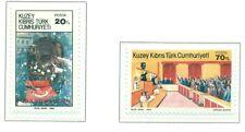 EVENEMENTS - EVENTS NORTHERN CYPRUS 1984 Republic 1st Anniv.