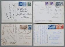 Storia postale. REPUBBLICA ITALIANA. Quatrro cartoline d'epoca 1947 - 1951...