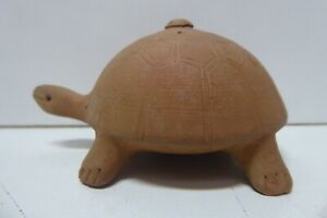 CHINESE POTTERY CERAMIC TURTLE STATUE FIGURINE