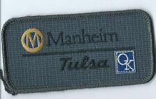Manheim Tulsa OK auction house employee patch 2X 4