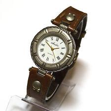 Avalon Damen Armbanduhr Rettungsring Uhr Damenuhr Damenarmbanduhr Leder