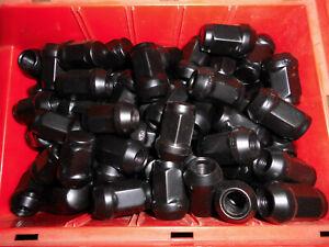 20 x Radmutter M12x1,25 Kegel Schwarz SW19 Nissan Suzuki Subaru D2S Alufelgen