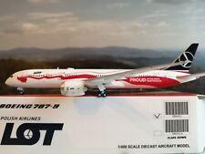 JC-Wings 1:400 LOT Polish Airlines B787-9 SP-LSC & Herpa Wings Kataloge NEUWARE