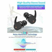 Bluetooth 5,0 TWS Wahre Wireless Mini Ohrhörer Kopfhörer Headset Wass Q4R5