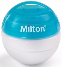 Blue Milton Mini Portatile Soother Sterilizzatore + 10 SCHEDE GRATIS per in movimento