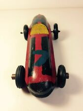 "Vintage Boy Scout wooden Derby Racing Toy Car 1940's Sold ASIS 7 1/2"" Long Cool"
