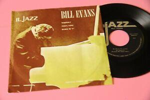 """Bill Evans Trio 7"""" EX ITALY PRESS TOP JAZZ"""