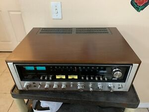 Sansui Model 9090DB Stereo Receiver Serviced/Looks Great! with restored case