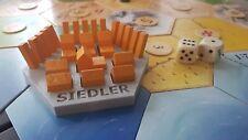 Siedler von Catan Upgrade, Halter und Organizer für Spielmaterial - SIEDLER