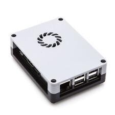 Case for Raspberry Pi 3 2 Model B fits Retropie, Kodi + Cooling Fan + Heatsinks