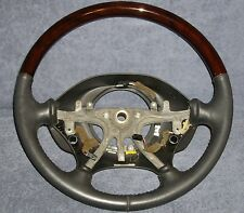 OEM Chrysler 300M / Dodge Intrepid Black Leather & Wood Grain Steering Wheel