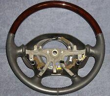 OEM Chrysler 300M / Dodge Intrepid Black Leather & Wood Grain Steering Wheel