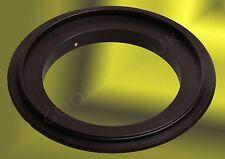 52MM Macro Lens REVERSE Mount Adapter Ring ingrandita per NIKON FUJI FOTOCAMERA