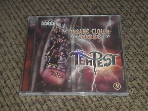 Sealed new INSANE CLOWN POSSE - THE TEMPEST album CD Psychopathic Records ICP