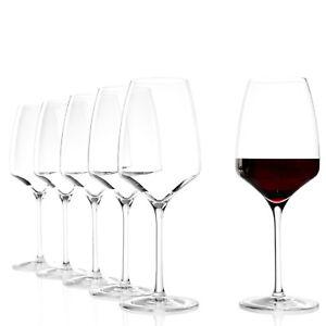 Weingläser Rotweingläser Rotweinglas Weinglas 6er Set Stölzle Experience 450 ml