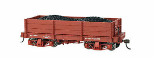 Bachmann Spectrum On30 Scale 18' Low Side Gondola - Oxide Red (Data Only)